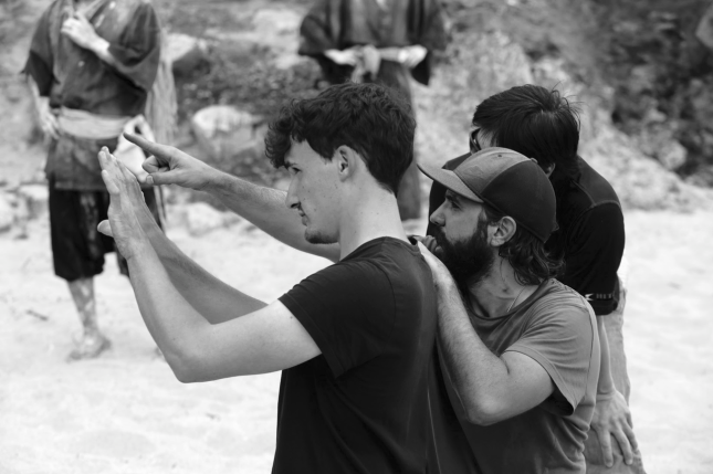 Dir. Stephen, DP David, Stunt Co. Mr. Minami